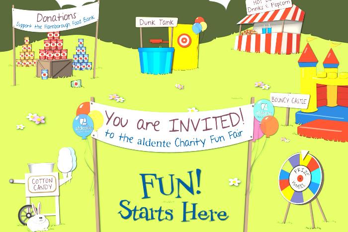 The Aldente Charity Fun Fair
