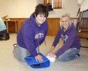 Joyce and Shanine from Aldente Dentistry in CPR recertification course
