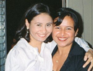 Dr. Ortega & Dr. Schaeffer in dental school